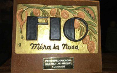 1.er premio frutado maduro FIO Móra la Nova 2020